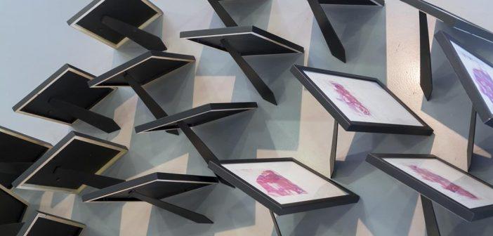 Obra por Luis Melon para la exposición extrarradio.