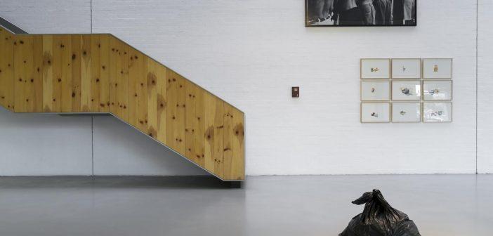 Obra por Ruben Santiago para la exposición extrarradio.
