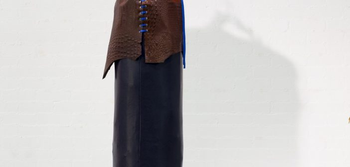 Imagen de uno de los sacos de la exposición