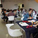 Visita a la galeria por el IES Carrús