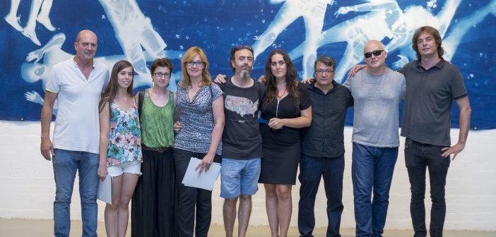 Seleccionados y ganador 2015 con miembros de la Fundación Pascual Ros Aguilar.