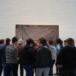 Visita a la exposición de Antonio Montalvo.